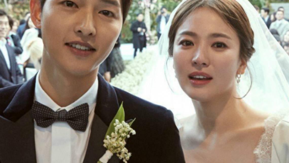 Những hình ảnh đẹp nhất trong đám cưới Song Joong Ki và Song Hye Kyo (Hậu duệ của mặt trời)