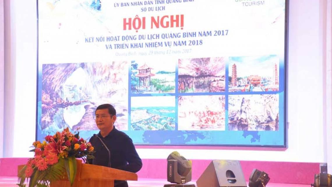 Mục tiêu: đón 3,5 triệu lượt khách du lịch đến Quảng Bình năm 2018